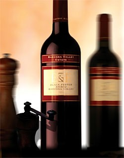 2002 Barossa Valley Estate E&E Black Pepper Shiraz