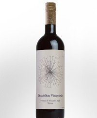 2011 Dandelion Vineyards Lioness of McLaren Vale Shiraz
