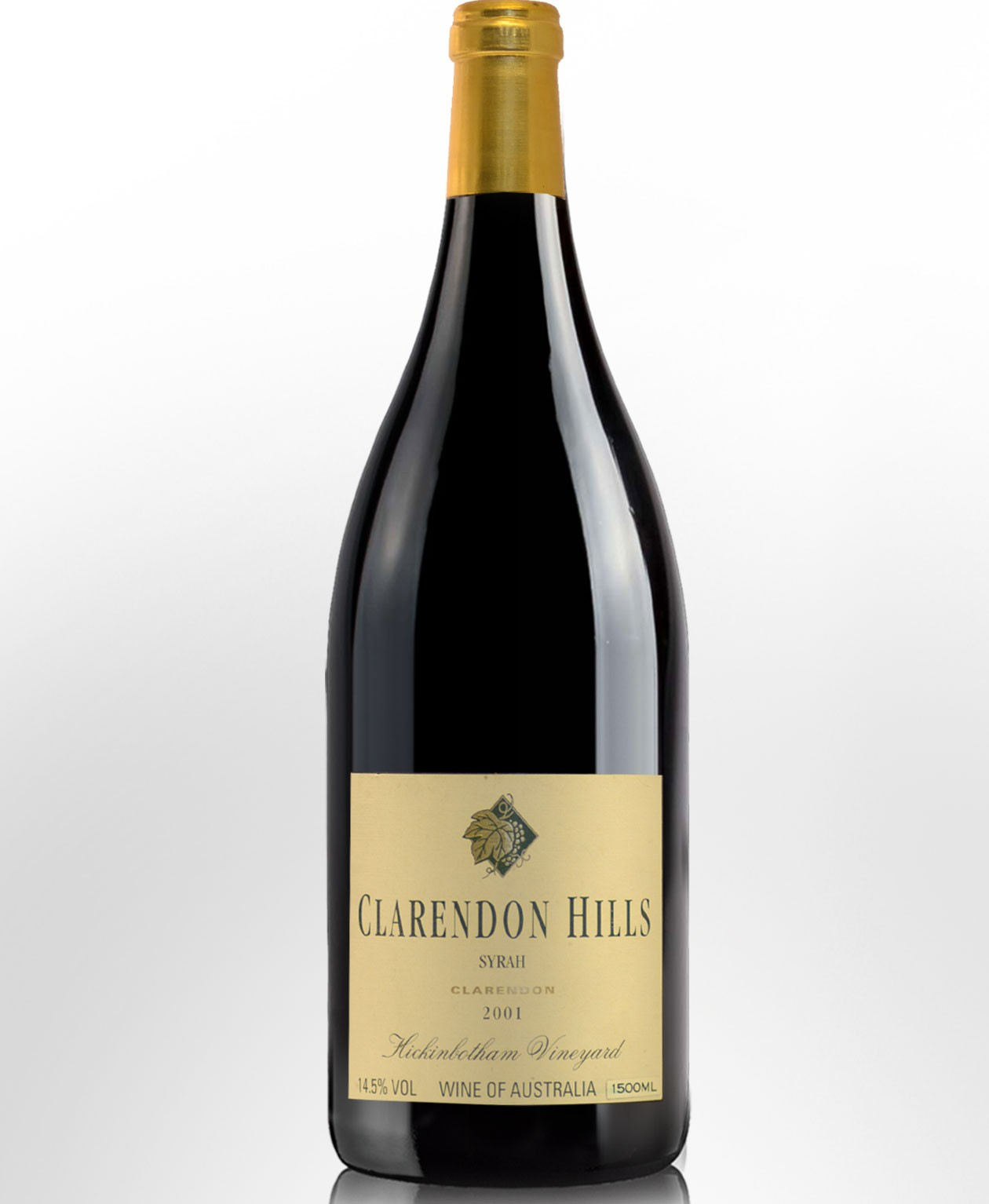 2001 Clarendon Hills Hickinbotham Vineyard Syrah (Shiraz) Magnum (1500ml)