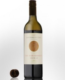 2008 Journeys End Embarkment Shiraz