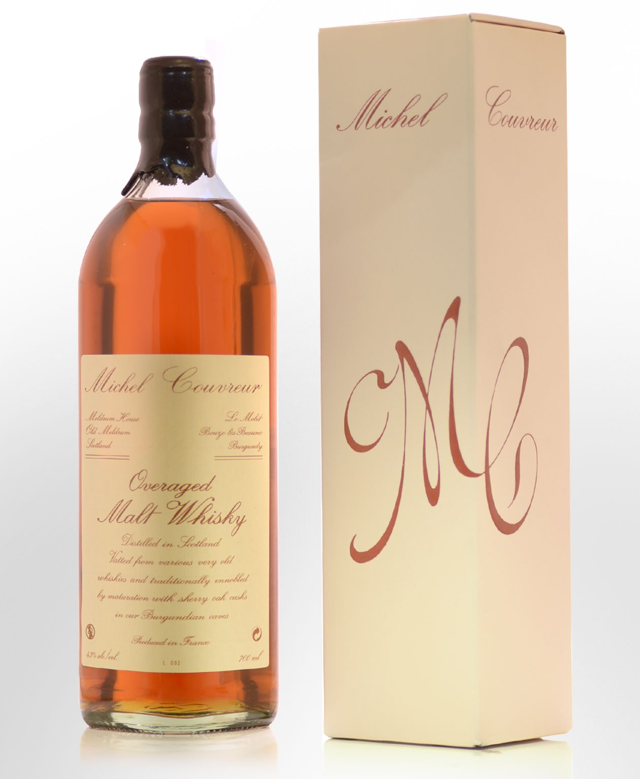 Michel Couvreur Overaged Single Malt Whisky (700ml)